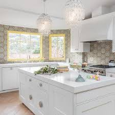 contemporary kitchen with bay window sink