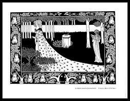 Aubrey Beardsley Print Art Nouveau Jugendstil Afdrukken Etsy