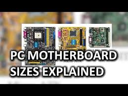 Atx Motherboard Size Chart Pc Motherboard Sizes As Fast As Possible