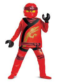 Lego Ninjago Kai Legacy Deluxe Costume For Kid's