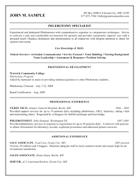 Phlebotomist Resume Examples Phlebotomy Resume Examples Fieldstation Aceeducation 2