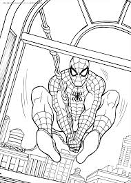 Click on the free spiderman colour page you would like to print, if you print them all you can make your own. Spiderman Free Coloring Pages Coloring Home