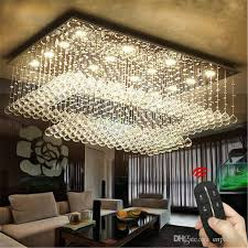 luxury chandelier led k9 crystal chandelier lamp ceiling lamp suitable for indoor foyer kitchen with 85 265v led gu10 dimmable lamps large pendant lights