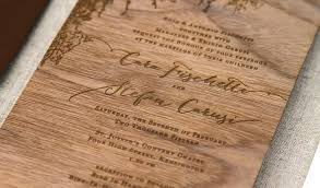 after the invitation cara & stefan blog anticipate invitations Real Wood Wedding Invitations after the invitation cara & stefan real wood wedding invitations custom