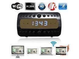 wifi hd 1080p night vision motion detection surveillance wireless alarm clock dv ip
