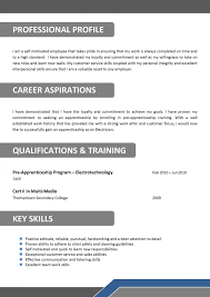 Resume Example Construction Electrician Samples Examples Electrical
