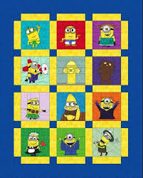 Fandom In Stitches: One In a Minion Quilt Along - Week 1 & Layout 3 photo qal layout 3_zpsoe2yiktr.jpg Adamdwight.com
