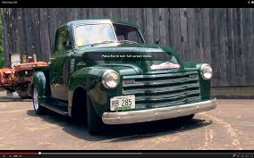 Reisinger Custom – Butch's 53 Chevy Pickup