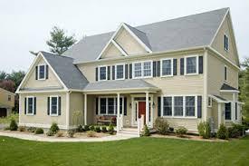 A modular home in Needham, Massachusetts