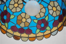58 Handmade Glass Stained Glass Pendant Lamp Bohemia Turkish