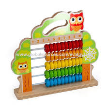 Educational toys, new design baby abacus toys for 1 year old W12A033 China