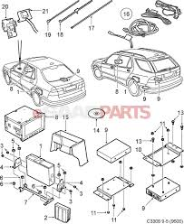 Esaabparts saab 9 5 9600 > electrical parts > audio related > navigation system xm system