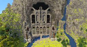 minecraft gate. Perfect Gate Gate Of Erebor Intended Minecraft