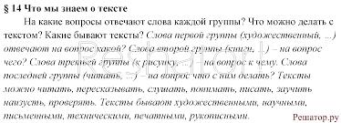Гдз класс русский язык ладыженская контрольные вопросы