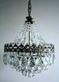 brass crystal chandeliers vintage brass and crystal chandelier s antique brass crystal chandelier made in spain