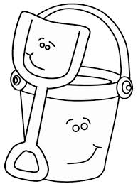 shovel and pail blues clues. Bucket And Shovel Coloring Page For Humorous Proven Blues Clues Pages Pail ColoringStar