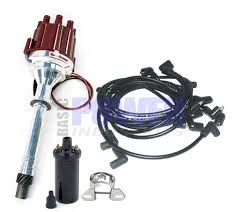 distributors marine engine parts fishing tackle basic power electronic ignition distributor kit marine gm small big block lh or rh
