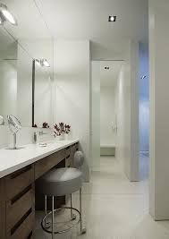 bathroom makeup lighting. beautiful lighting chicago narrow bathroom vanity contemporary with recessed lighting lights  stool on bathroom makeup lighting