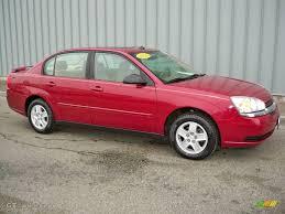 2004 Sport Red Metallic Chevrolet Malibu LS V6 Sedan #2596220 ...