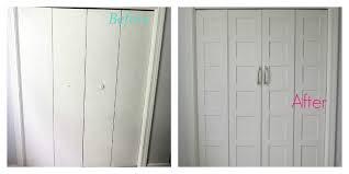 french closet doors diy. Before And After Closet Door Makeover French Doors Diy U