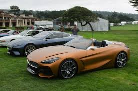 2018 bmw concept z4. contemporary concept video bmw concept z4 and 8 series coupe at pebble beach intended 2018 bmw concept z4
