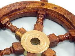 wall clock ships wheel