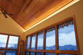 cove ceiling lighting. brite strip in cove reflector view from above and below ceiling lighting d
