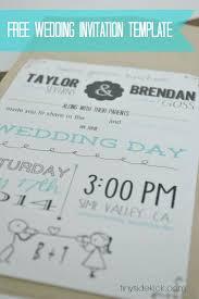 Free Printable Wedding Invitation Templates Puzzle Invitation