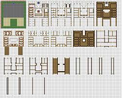 Small Picture Minecraft large Inn floorplans WiP by ColtCoyote minecraft