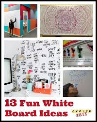 Fun white board ideas for the office or the classroom! http://blog