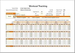 workout template excel excel workout template noshot info