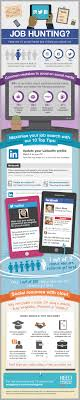 10 social media tips for your job hunt infographic the job hunting here are 10 social media tips to help you stand out