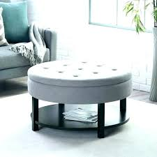 circle coffee table with storage leather ottoman coffee table brown medium circle coffee table with storage circle coffee table