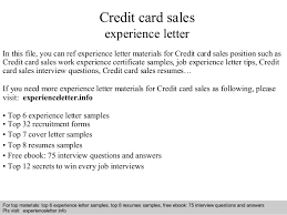 Best Ideas of Credit Card Sales Resume Sample With Additional Format Layout