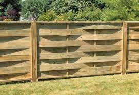 making basket weave fence