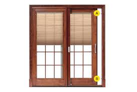 standard on architect series and designer series sliding patio doors