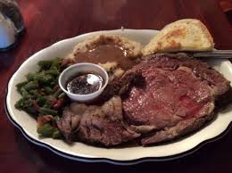 prime rib dinner. Plain Prime Flat Iron Steakhouse Prime Rib Dinner On