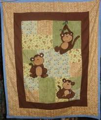 Seamingly Slawson Quilts: Monkeys! baby quilt and more ... & Tina's Tops - Monkey Quilt Adamdwight.com