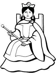 Queen Coloring Page Queen Coloring Page Veggietales Queen Esther