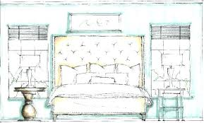 drawings of bedroom sketch simple drawing images cupboards e81 drawing