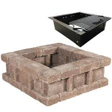 Hampton Bay Texas Star Crossfire 30 In Steel Fire Pit With Home Depot Fire Pit