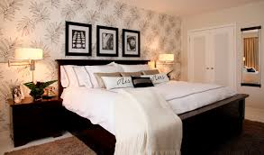 simple master bedroom. 20 Ways Bedroom Wallpaper Can Transform The Space Designs For Master Palm Simple