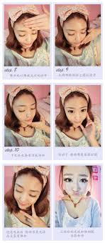 doll eyes korean ulzzang makeup pictures diy tutorial how to