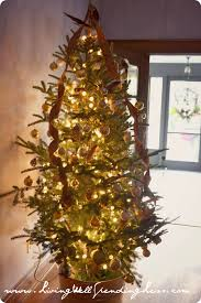 tree christmas kitchen cabinets