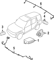 Genuine land rover module ran lr024774