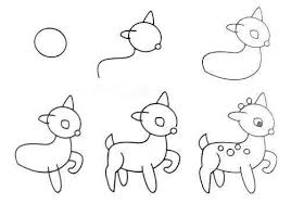 easy animals to draw step by step. Brilliant Step How To Draw Easy Animal Figures In Simple Steps  ICreativeIdeascom Follow  Us On And Animals To Step By Pinterest