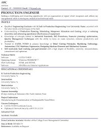 Download resume for fresher mechanical engineer Curriculum Vitae Samples  For Mechanical Engineers Freshers Sample Resume For