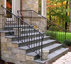 Outdoor Stair Handrail Design