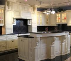 white kitchen cabinets with granite countertops modern galley off dark floors decoration kitchens country color schemes