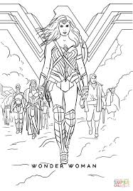 Wonder Woman Movie coloring page | Free Printable Coloring Pages